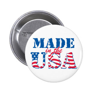 Made in the USA Pinback Button