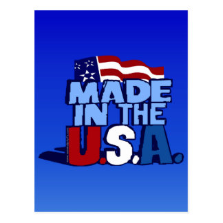 Made In The USA Postcard