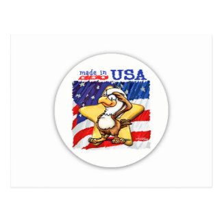 Made in the USA Post Card