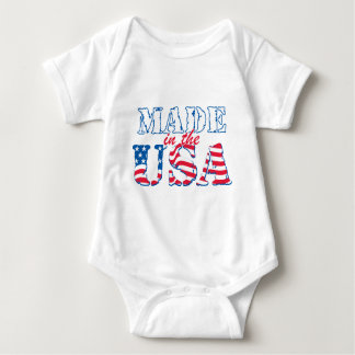 Made in the USA rev Baby Bodysuit