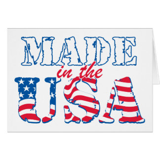 Made in the USA rev Greeting Cards