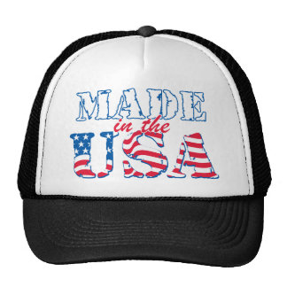 Made in the USA rev Hats