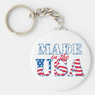Made in the USA rev Key Chains