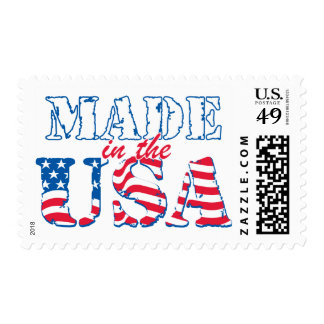 Made in the USA rev Postage