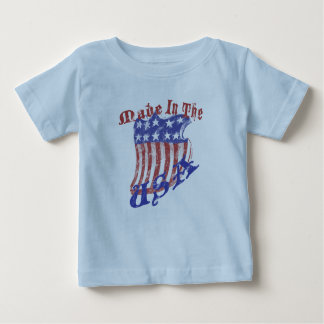 Made in the USA Shield K Baby T-Shirt