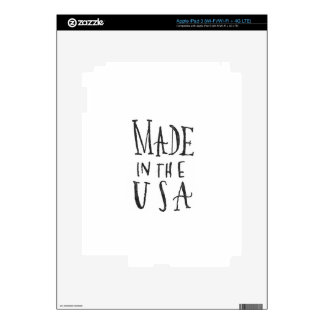 Made in the USA iPad 3 Decals