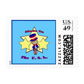 Made in the USA Small Stamp