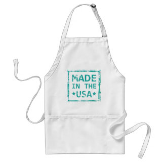 Made in the USA stamp Adult Apron