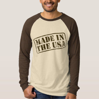 MADE IN THE USA Stamped - t-shirt