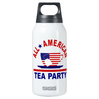 Made in the USA Tea Party Patriotic Insulated Water Bottle