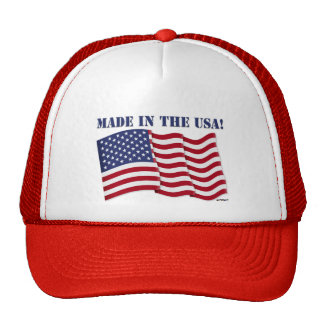 MADE IN THE USA! TRUCKER HAT