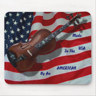 MADE IN THE USA VIOLIN -MOUSEPAD