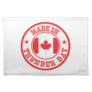 Made In Thunder Bay Cloth Placemat