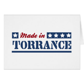Made in Torrance Greeting Card