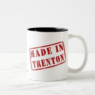 Made in Trenton Two-Tone Coffee Mug
