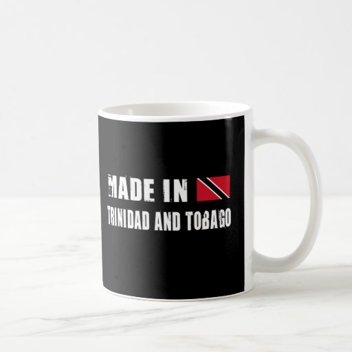 Made in Trinidad and Tobago Classic White Coffee Mug