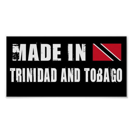 Made in Trinidad and Tobago Poster
