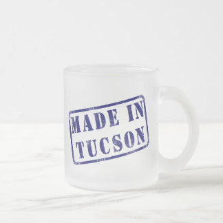 Made in Tucson Frosted Glass Coffee Mug