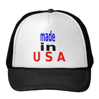 made in u s a trucker hat