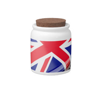 Made in United Kingdom Candy Jars