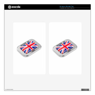 Made in United Kingdom Skin For Kindle Fire