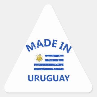 Made in Uruguay Triangle Sticker