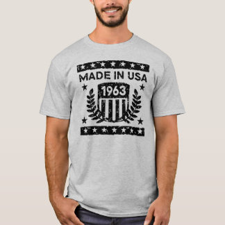 Made In USA 1963 T-Shirt