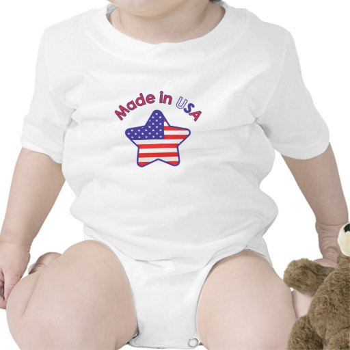 Made In USA Baby Bodysuits