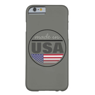 "Made in ...""USA"" Barely There iPhone 6 Case"