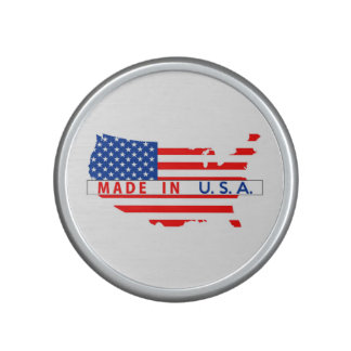 made in usa country map flag product label united speaker