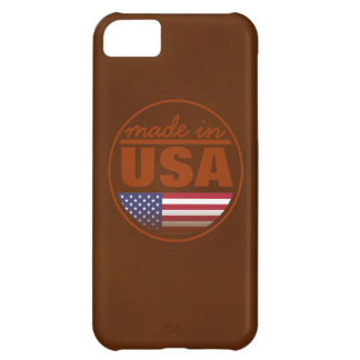 "Made in ...""USA"" Cover For iPhone 5C"
