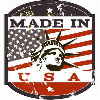 made in USA Cutout