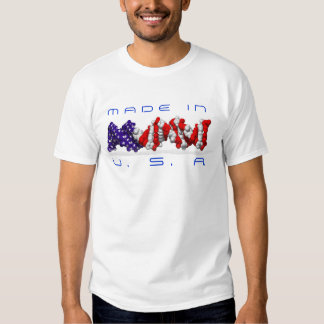 Made in USA DNA? - text is customizable T-Shirt