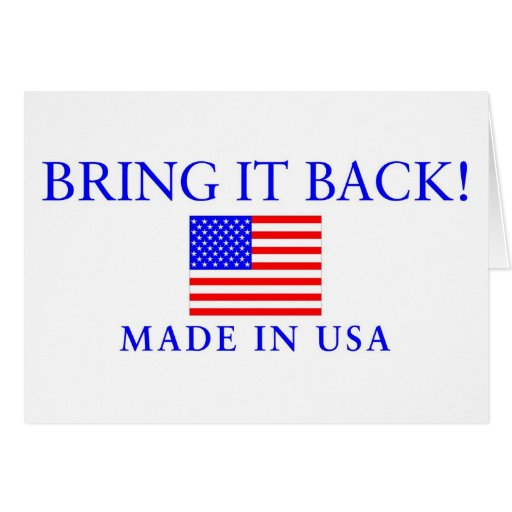 Made in usa greeting card zazzle