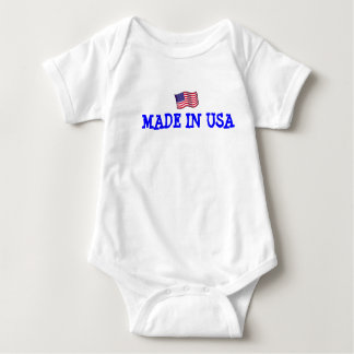 MADE IN USA INFANT CREEPER