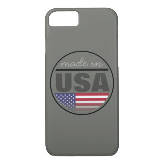 "Made in ...""USA"" iPhone 8/7 Case"