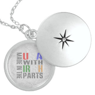 Made in USA Irish Parts Sterling Silver Necklace