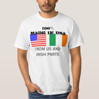 Made in USA, Irish Parts T-Shirt