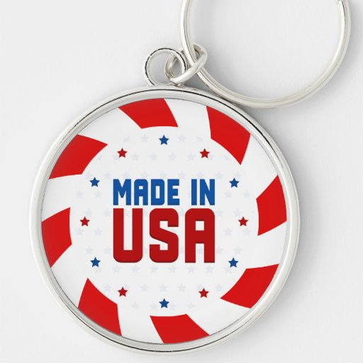 Made In USA  Keychain