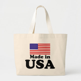 Made in USA Large Tote Bag
