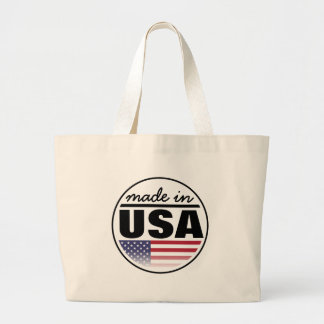 "Made in ...""USA"" Large Tote Bag"