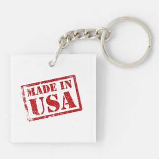 Made in USA, Made in America Keychain