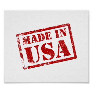 Made in USA, Made in America Poster