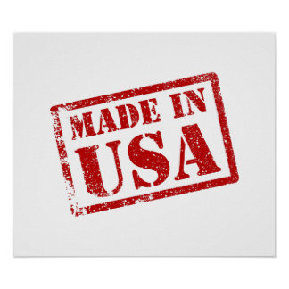 Made in USA, Made in America Posters