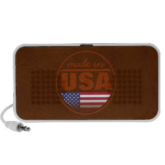 "Made in ...""USA"" Mini Speakers"