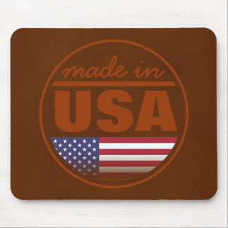 """Made in ...""""USA"""" Mouse Pad"""