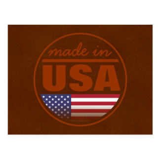 """Made in ...""""USA"""" Postcard"""