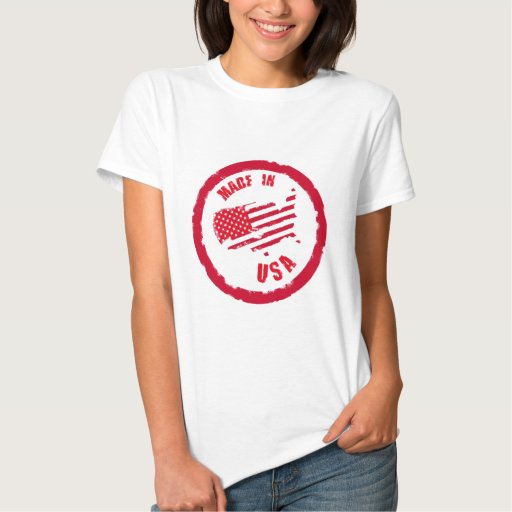 Made in USA rubber stamp design Shirt