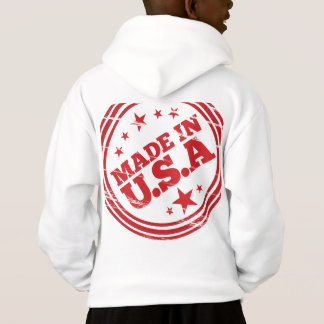 Made in USA Stamp Hoodie