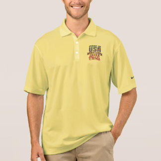 Made In USA With Irish Parts Polo Shirt